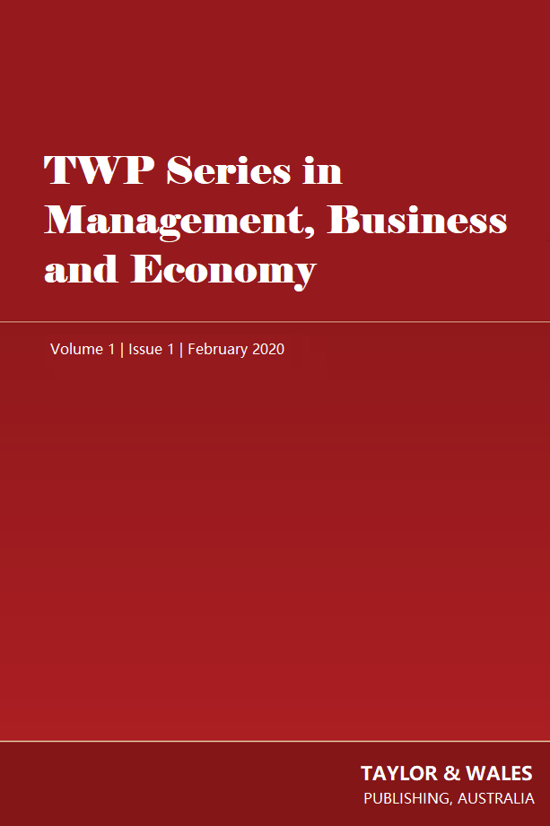 TWP Series in Management, Business and Economy | Taylor & Wales Publishing