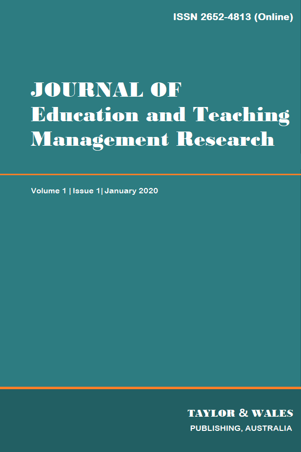 Journal of Education and Teaching Management Research | Taylor & Wales Publishing