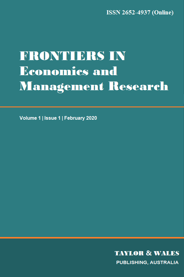 Frontiers in Economics and Management Research | Taylor & Wales Publishing
