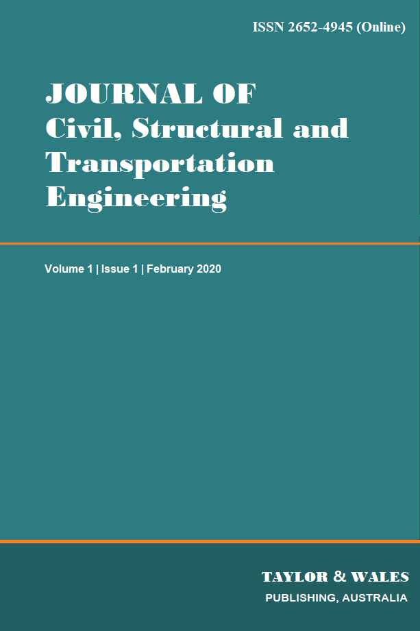 Journal of Civil, Structural and Transportation Engineering   TW Publishing